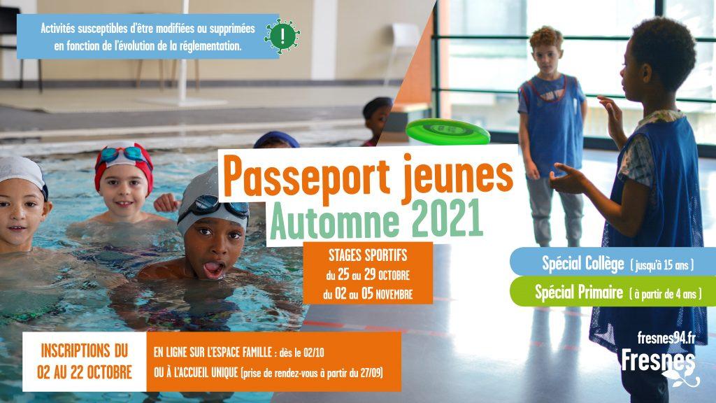 Passeports jeune – Automne 2021